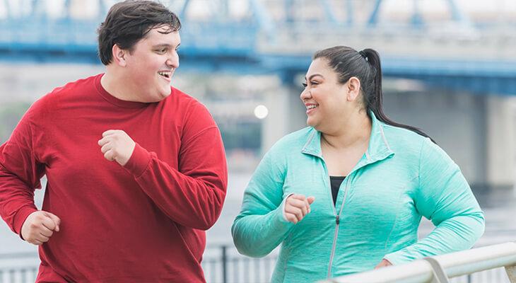 تاثیر ورزش برای لاغری